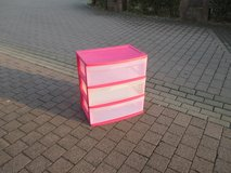 3 drawer storage containers in Ramstein, Germany