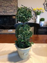 Two Tier Faux Ball Topiary in Kingwood, Texas