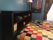 Youth or teenage full size Bed with awesome shelves in Fort Campbell, Kentucky
