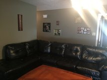 Brown Sectional couch for sale in Camp Lejeune, North Carolina