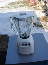 OSTER 10 SPEED , SIX CUP GLASS BOWL BLENDER in Plainfield, Illinois
