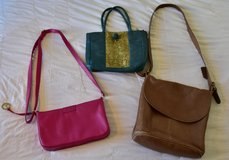 Coach leather bag and silk purse from Vietnam in Stuttgart, GE