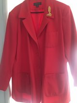 Jacket size 22 Coral in Hampton, Virginia