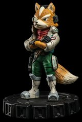 star fox zero statue in Camp Pendleton, California