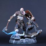 God of War ps4 collector's statue in Camp Pendleton, California