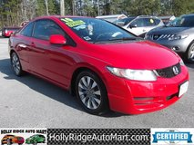 2010 Honda Civic EX-L 2DR Coupe. in Camp Lejeune, North Carolina