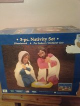 Nativity Set in Cleveland, Texas