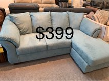 Sofa with chaise in Lockport, Illinois