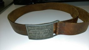 Vintage Levi's leather belt in Warner Robins, Georgia
