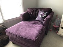 Purple suede lounger in Moody AFB, Georgia