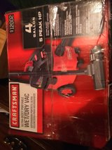4 gallon craftsman wet/dry Vac in Fort Campbell, Kentucky