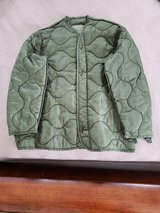 Military Jacket Liner (Green) in Okinawa, Japan
