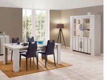 United Furniture-Household Pkg 1B - Sectional + Dining + Entertainment + Coffee Table + Delivery in Grafenwoehr, GE