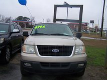 FORD  EXPEDITION XLT AUTO 3RD ROW -REDUCED~ in Camp Lejeune, North Carolina