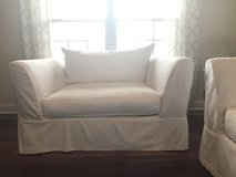 Sofa & oversized Chair w/removable slipcovers in Camp Lejeune, North Carolina