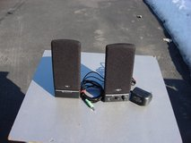 TAKE YOUR CHOICE OF POWERED COMMPUTER SPEAKERS in Batavia, Illinois