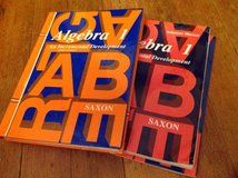Algebra 1   Saxon 3rd ed. With Solutions Manual in Fort Leavenworth, Kansas