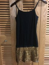 Black/ Gold sequin dress in Okinawa, Japan