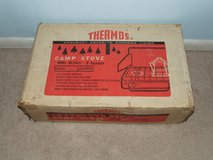 Vintage Thermos Camp Stove 2-Burner Model 8423 / Box in Plainfield, Illinois