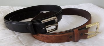 Men's Leather Belts Lot 2 in Kingwood, Texas