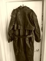 LOWERED PRICE - Womans Long leather jacket in DeKalb, Illinois