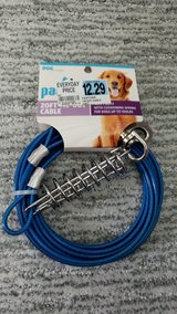 Pawtown Blue 20' Tie-Out Cable in Oswego, Illinois