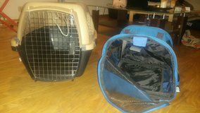 Dog Kennel - Medium w/ Matching Carrier - Airline Approved in Stuttgart, GE