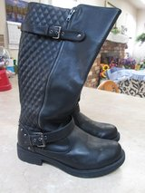 Black Leather Boots in Alamogordo, New Mexico