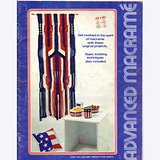 1972 Advanced Macrame, 9 Designs,  Royal-Craft 7133 Bklet in Chicago, Illinois