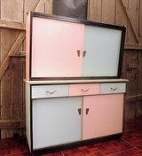 1950s Pastel Kitchen Buffet Solid Wood in Ramstein, Germany