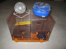 Hamster Cage with Accessories in Ramstein, Germany