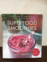 Super Food Smoothies Book in Okinawa, Japan