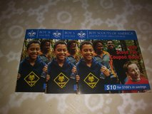 Boyscouts Coupon Books in Spring, Texas