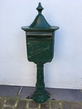 antique french letter box — very heavy in Ramstein, Germany