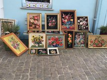 lots of lovely french Gobelins - needlepoints in Ramstein, Germany