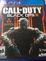 PS4 Call of Duty Black Ops III Never Opened in Cherry Point, North Carolina