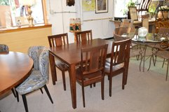 Nice Table and 4 chairs  ( wood) in Fort Lewis, Washington