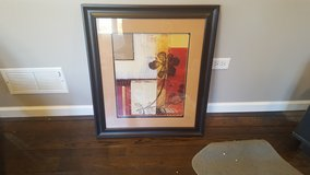 "Black Framed Wall Picture (30""x26"") in Naperville, Illinois"