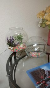 2 Fish Bowls -Gently used in Fairfield, California