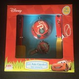 New in Box! Disney Cars Cupcake Kit (2 available) in Bolingbrook, Illinois