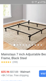 New: Twn-Queen Bed Frame in Fort Riley, Kansas