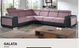 United Furniture - Galata Large Sectional including delivery -  many colors and material-2 Tone ... in Grafenwoehr, GE