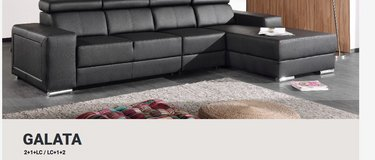 United Furniture - Galata Sectional - Includes deliver - on opposite side - many materials in Grafenwoehr, GE