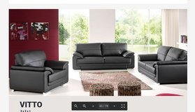 United Furniture - Vitto Sofa + Loveseat + Chair in Solid or Two-Tone including delivery in Grafenwoehr, GE