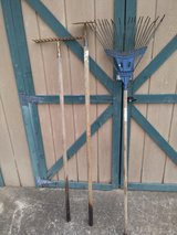 Yard tools in Fort Campbell, Kentucky