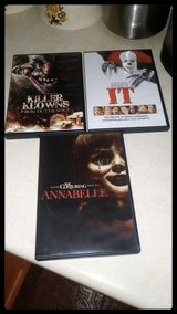 Stephen Kings IT,  The Conjuring ANNABELLE & KILLER CLOWNS From Outer Spece in Orland Park, Illinois