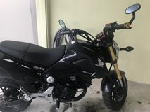 Honda Grom in Okinawa, Japan