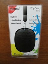 iSound PopDrop Wireless Speaker - Licorice in Camp Lejeune, North Carolina