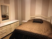 Wicker Style Bedroom Set in Palatine, Illinois