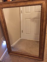 Large Framed Mirror in Cherry Point, North Carolina